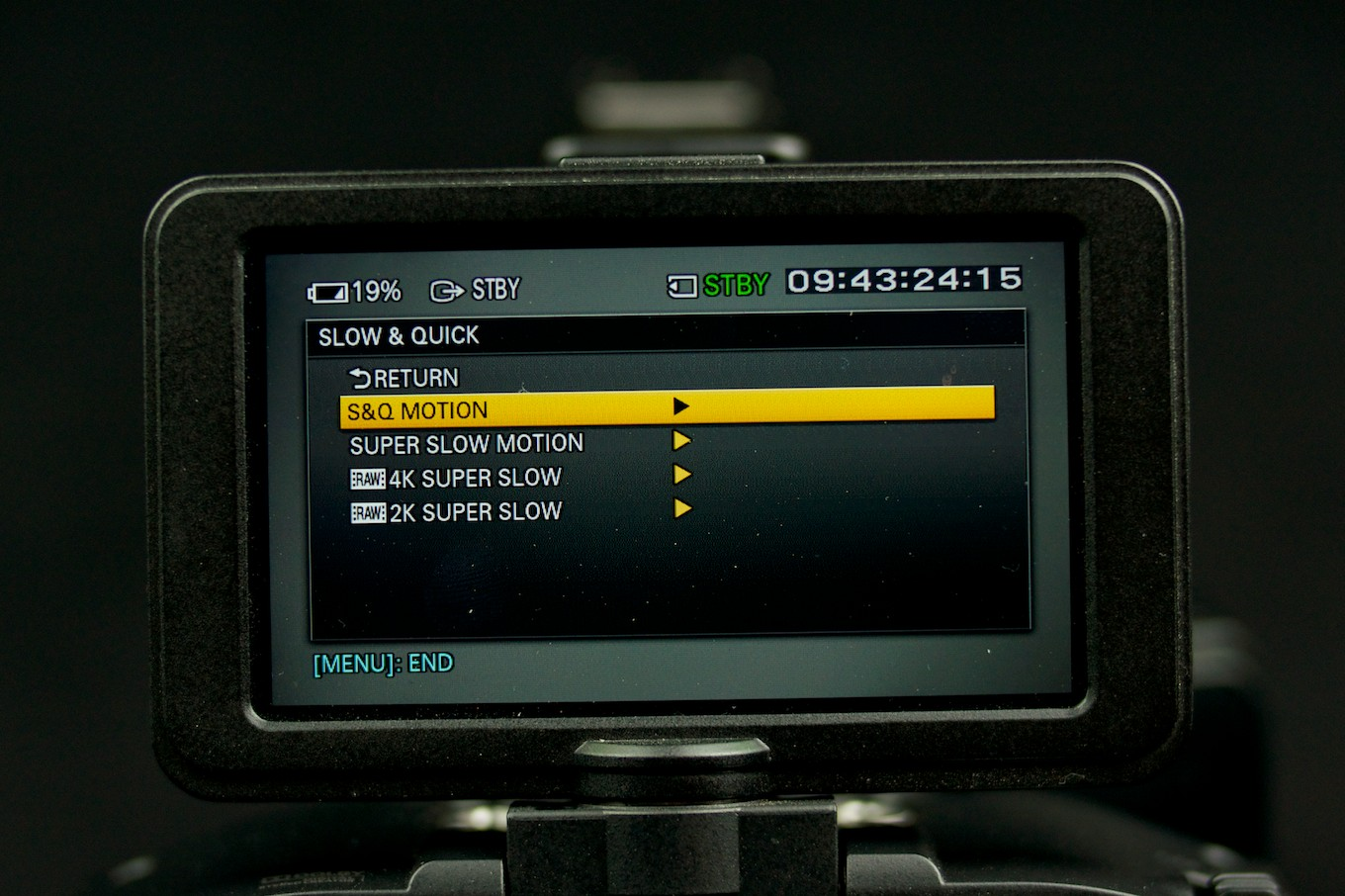 fs700 how to set end trigger