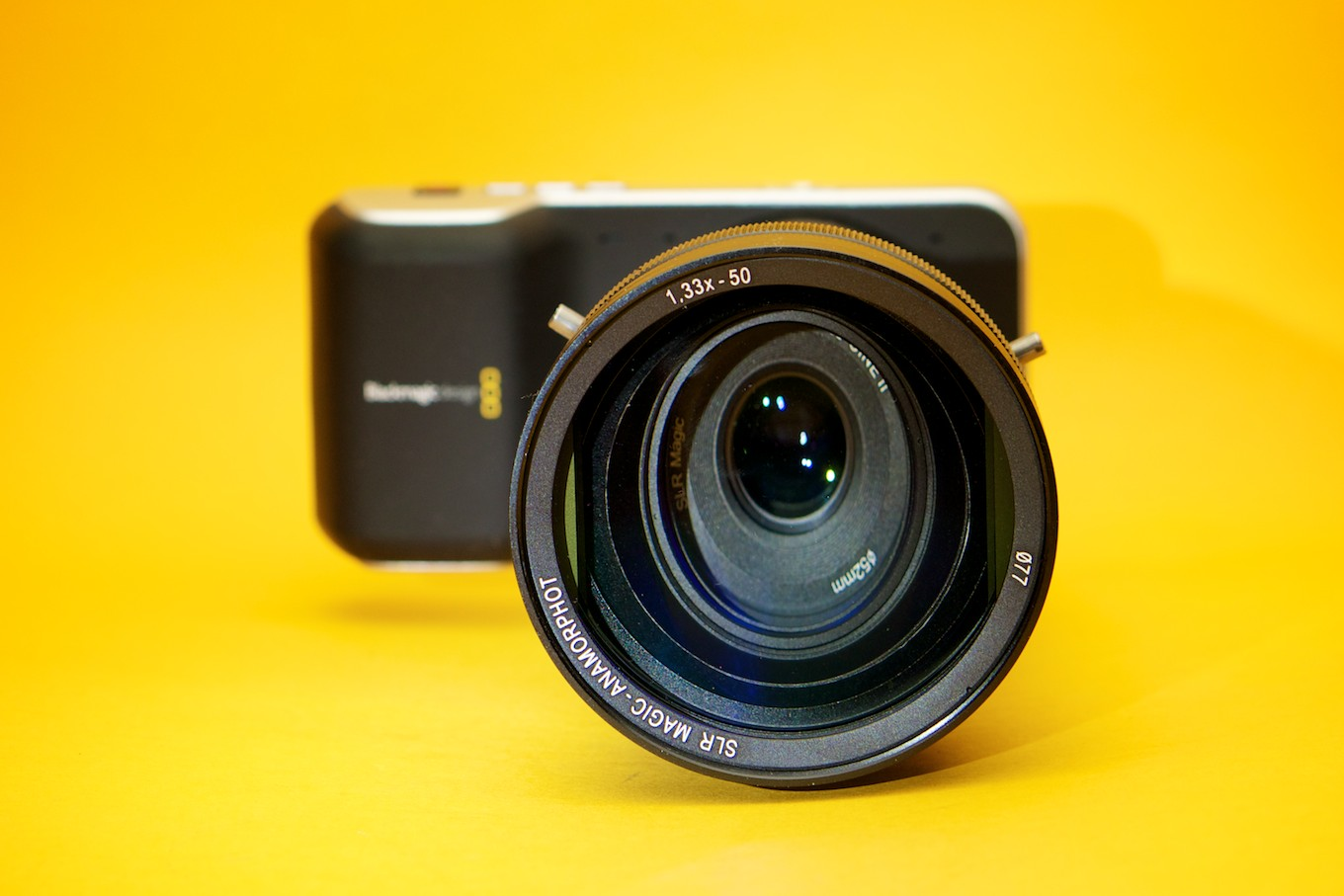 Anamorphot, Blackmagic Design Pocket Cinema Camera